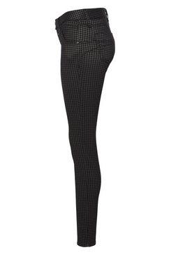herrlicher slim fit jeans »touch slim jacquard« grijs