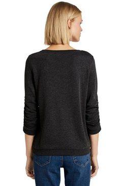 tom tailor denim sweatshirt grijs