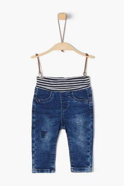 s.oliver skinny fit jeans blauw