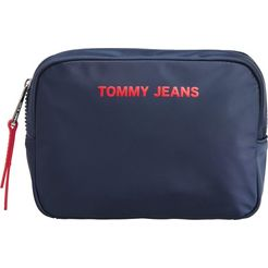 tommy jeans make-uptasje »tjw nylon twist washbag« blauw