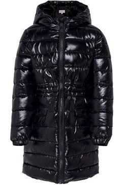 kids only doorgestikte jas zwart