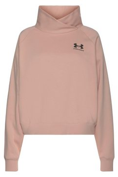 under armour sweatshirt »rival fleece wrap« roze