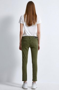 ltb slim fit jeans »molly« groen