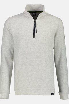 lerros sweatshirt »troyer« beige