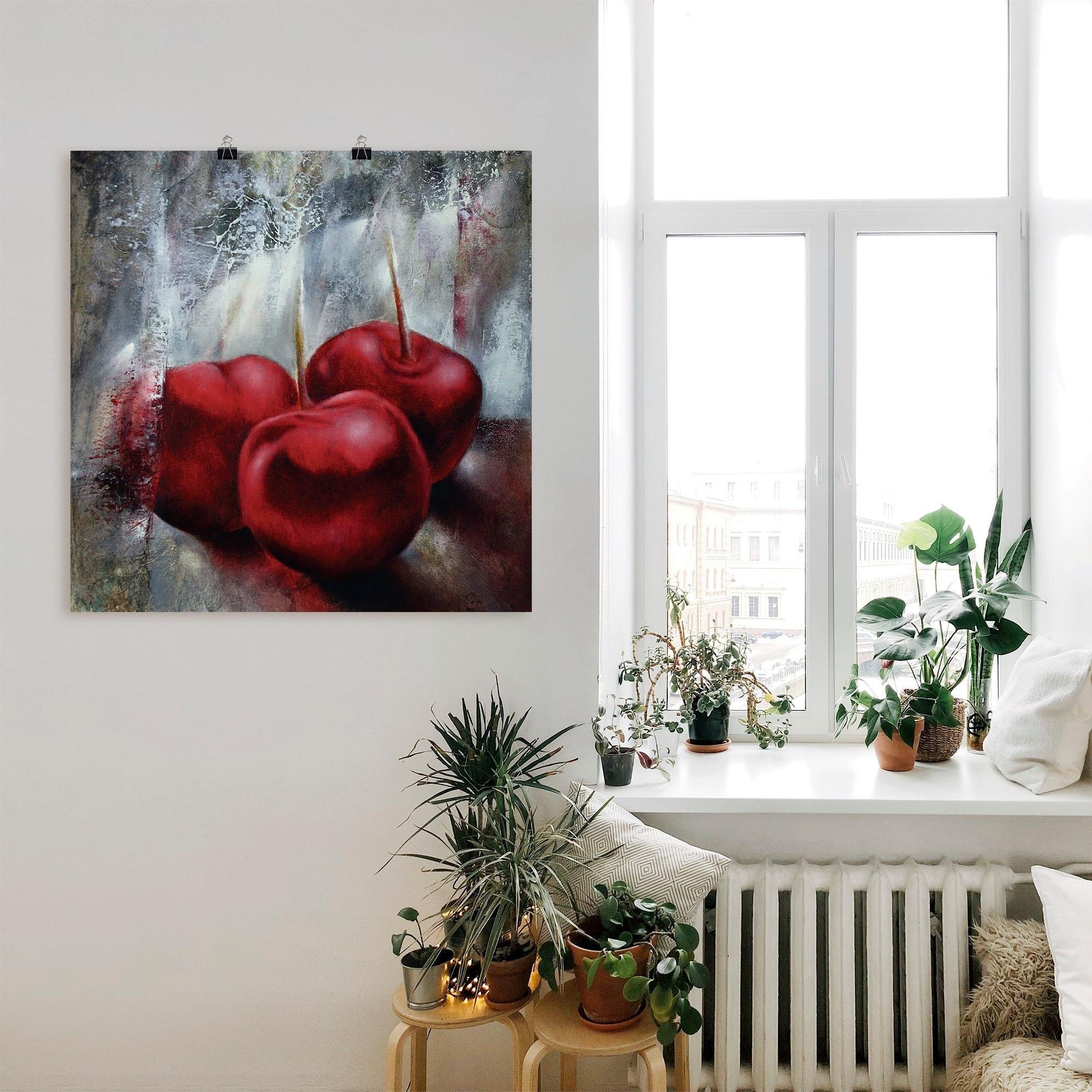 Artland artprint »Kirschen« - gratis ruilen op otto.nl