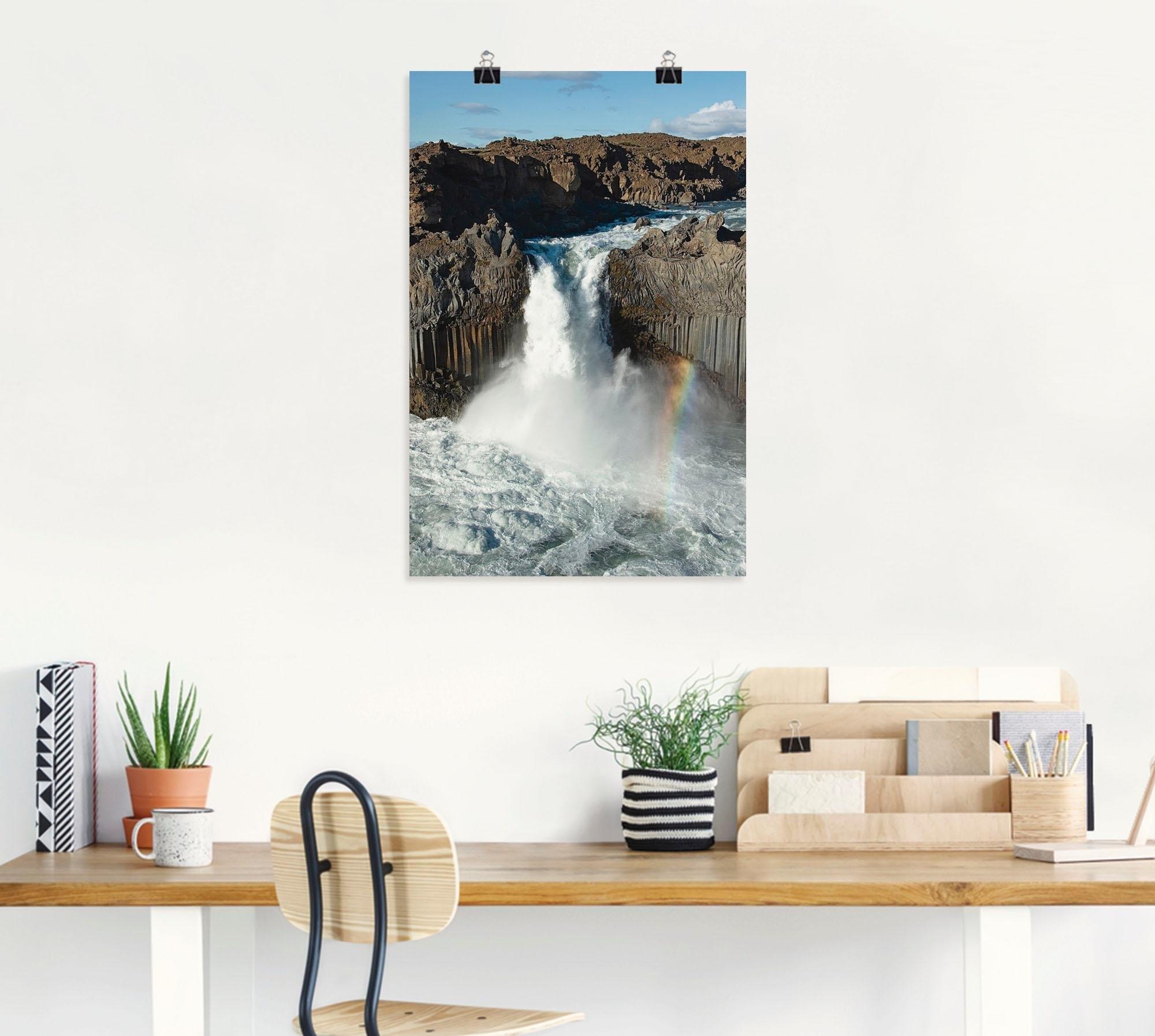 Artland artprint »Wasserfall II« goedkoop op otto.nl kopen