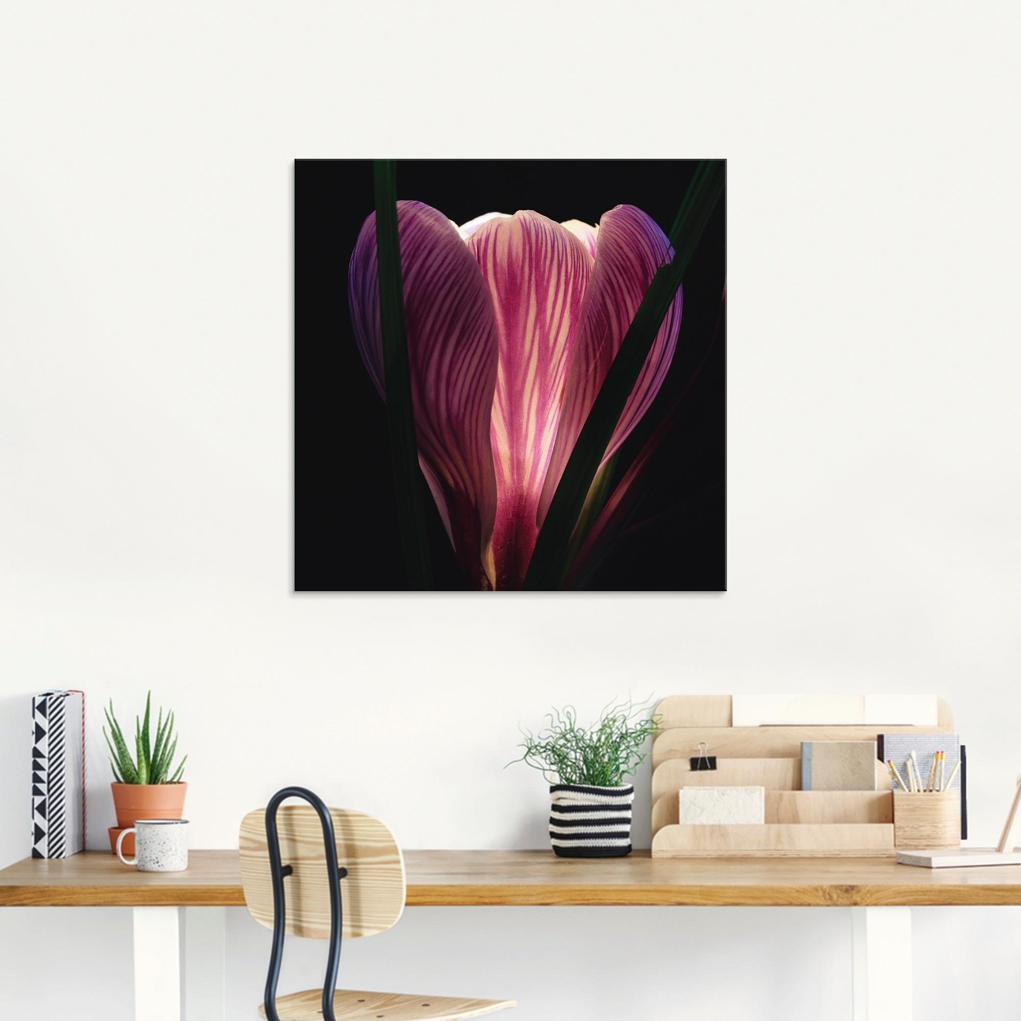 Artland print op glas »Beleuchtet« bij OTTO online kopen