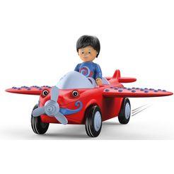 toddys by siku »leo loopy« speelgoed vliegtuig rood