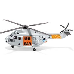 siku »siku super, sar - search and rescue« speelgoed-helikopter zilver