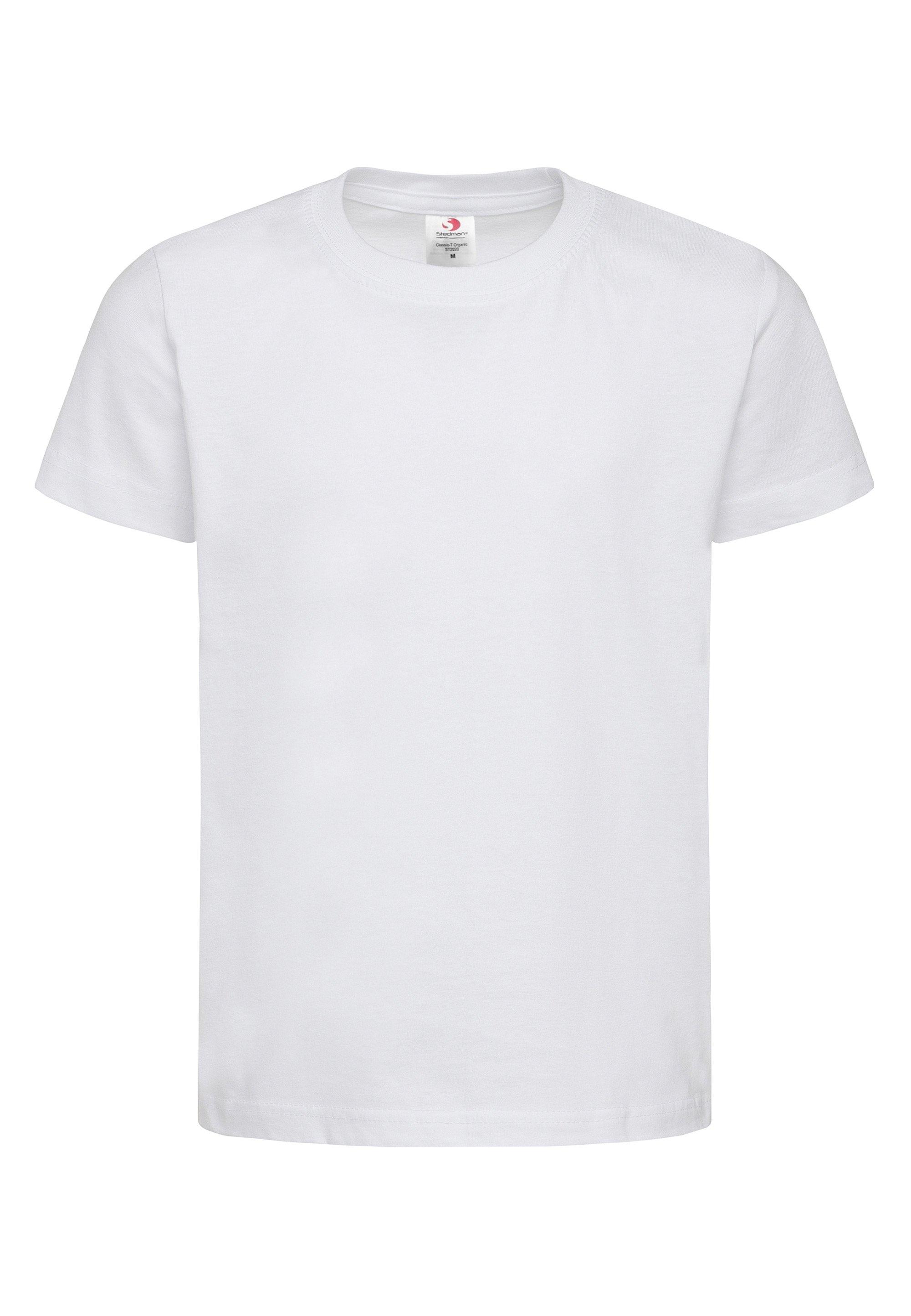 Stedman Shirt met ronde hals Essential Kids Organic in een klassiek design van biokatoen bestellen: 30 dagen bedenktijd