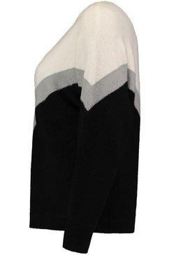 haily's trui met ronde hals »ruby« zwart