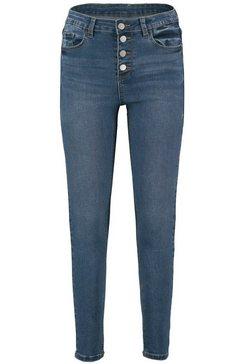 haily's high-waist jeans »romina« blauw
