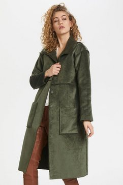 denim hunter outdoorjack »dhbelle shearling« groen