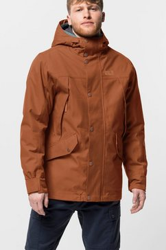 jack wolfskin winterjack »clifton hill jacket m« bruin