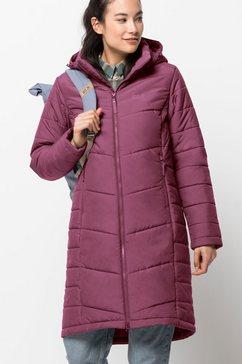 jack wolfskin winterjas »north york coat w« paars