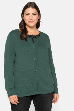 sheego vest groen