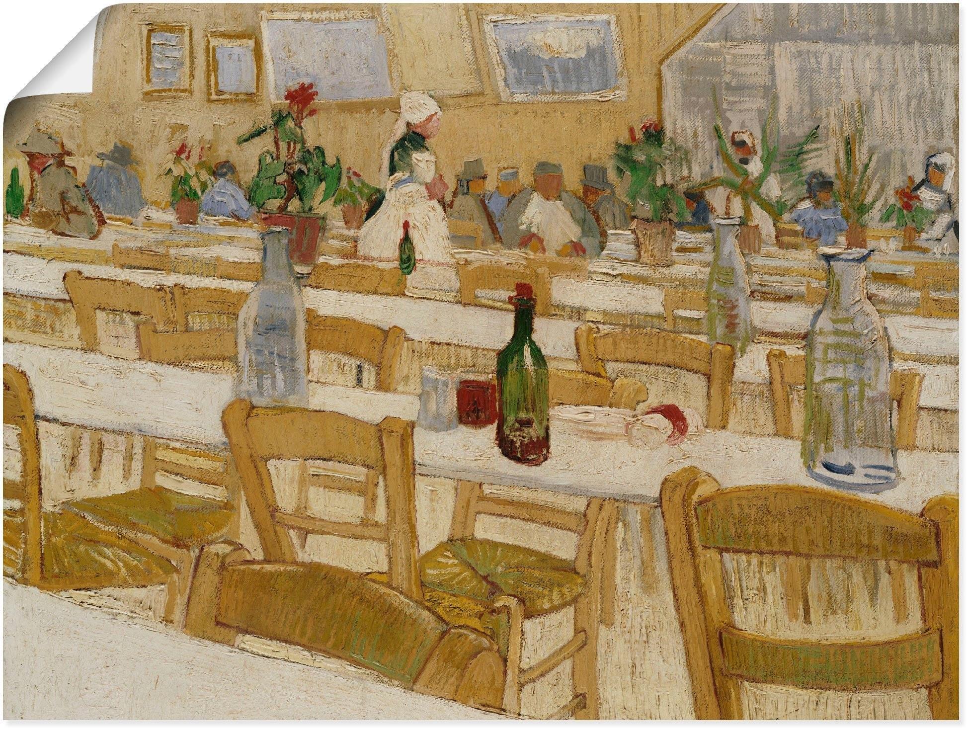 Artland artprint »In einem Restaurant. 1887-88« bij OTTO online kopen
