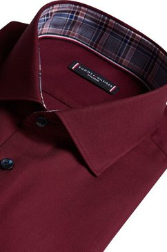 tommy hilfiger tailored businessoverhemd rood