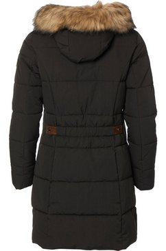 danwear gewatteerde jas zwart