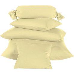 schlafgut sluimerrol-overtrek »nelke« geel