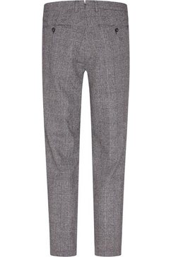 tommy hilfiger tailored pantalon »check slim pant« zwart