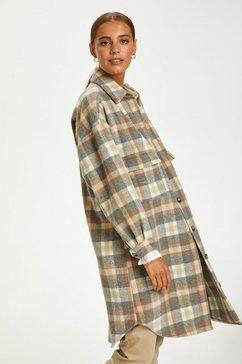 cream lang jack »taracr oz shirt« grijs