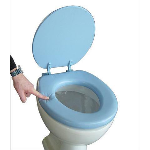 Badkameraccessoires Toiletzitting Soft 478852 blauw