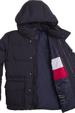 tommy hilfiger donsjack »tommy down hdd jacket« zwart