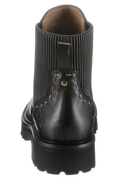 la martina chelsea-boots zwart