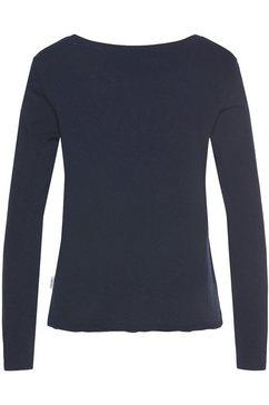 marc o'polo denim shirt met lange mouwen blauw