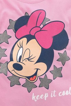 minnie mouse shirt met lange mouwen »keep it cool minnie mouse« paars