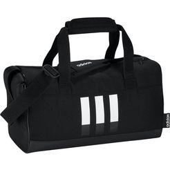 adidas performance sporttas »3-stripes dufflebag xs« zwart