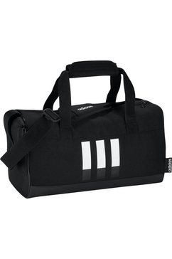 adidas performance sporttas »3-stripes dufflebag xs« zwart