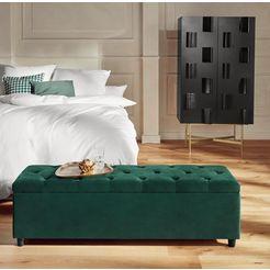 guido maria kretschmer homeliving slaapkamerbankje »relaxy« groen