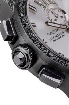 haemmer germany chronograaf »silverstar, e-002-ss« zwart