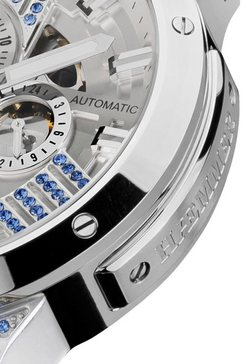 haemmer germany automatisch horloge »white lake, gl-300-w« wit