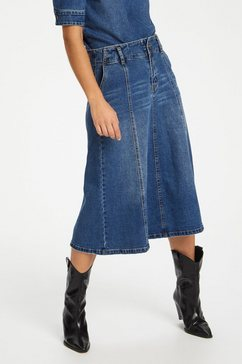 denim hunter rok in a-lijn »dhvitus denim« blauw