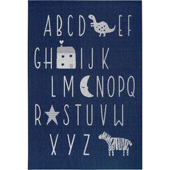 luettenhuett vloerkleed voor de kinderkamer »alphabet« beige