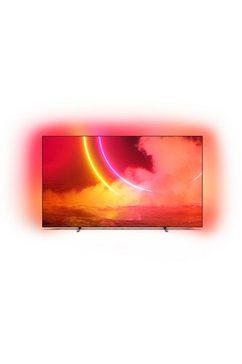 "philips oled-tv 65oled805-12, 164 cm - 65 "", 4k ultra hd, smart-tv grijs"