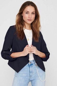 only blouseblazer onlmisty 3-4-mouwen met trensje blauw