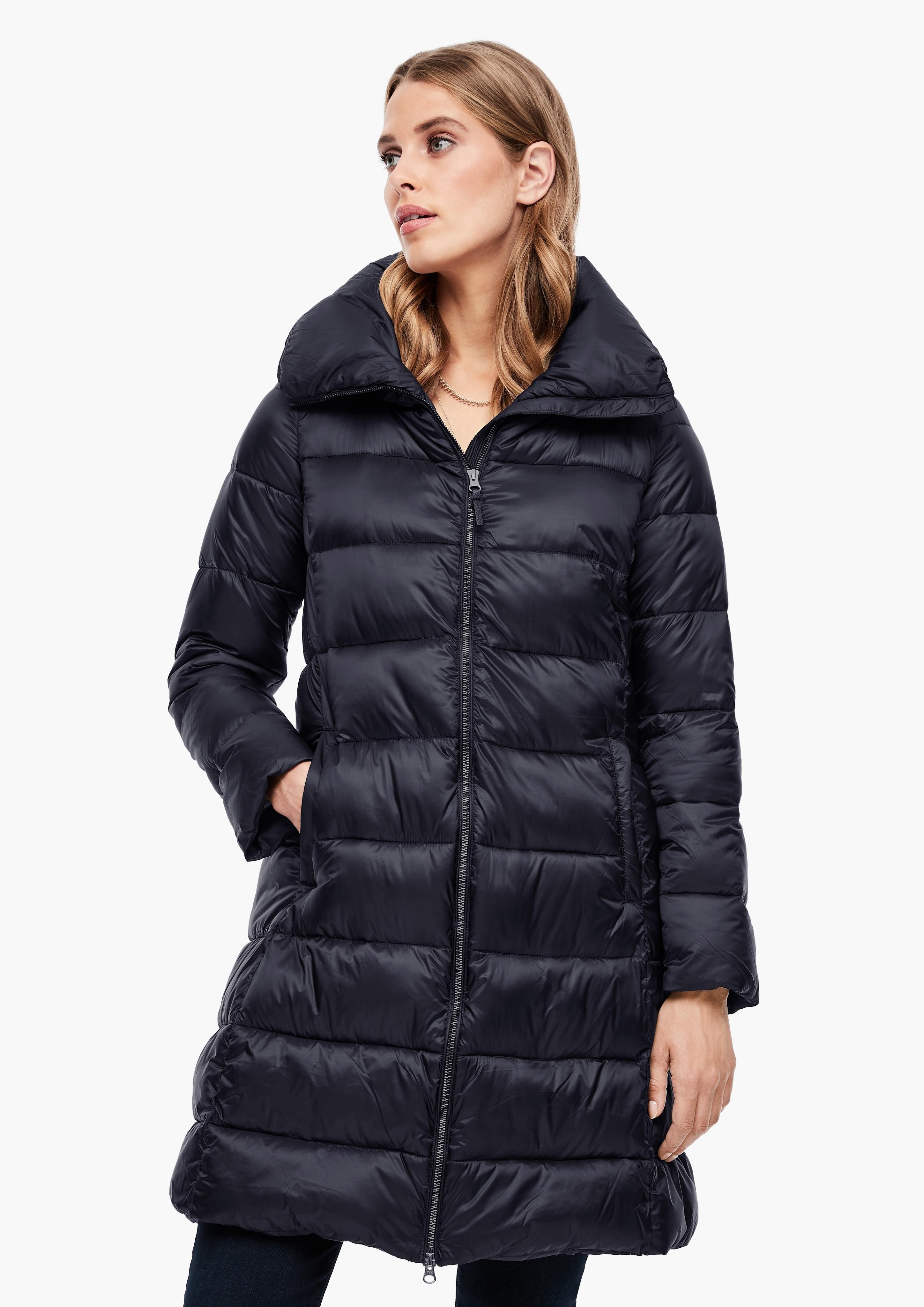 Op zoek naar een s.Oliver BLACK LABEL doorgestikte jas? Koop online bij OTTO