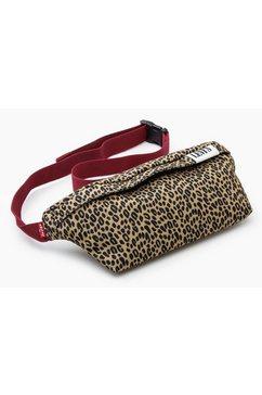 levi's buiktasje »women's banana sling - serif tab« bruin