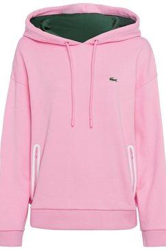 lacoste hoodie roze