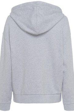 lacoste hoodie grijs