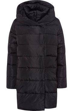 herrlicher gewatteerde jas »tamsin« zwart