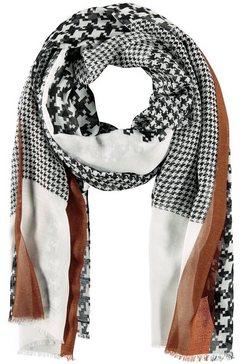 gerry weber sjaal »schal mit karomix« zwart