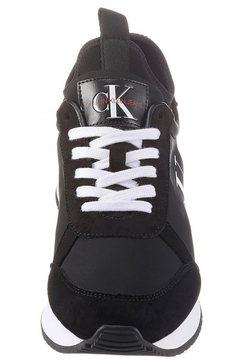calvin klein sneakers »jongi« zwart