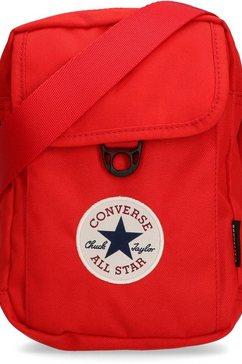 converse schoudertas »cross body 2, university red« rood