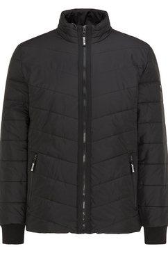 mustang gewatteerde jas »daniel light padded« zwart