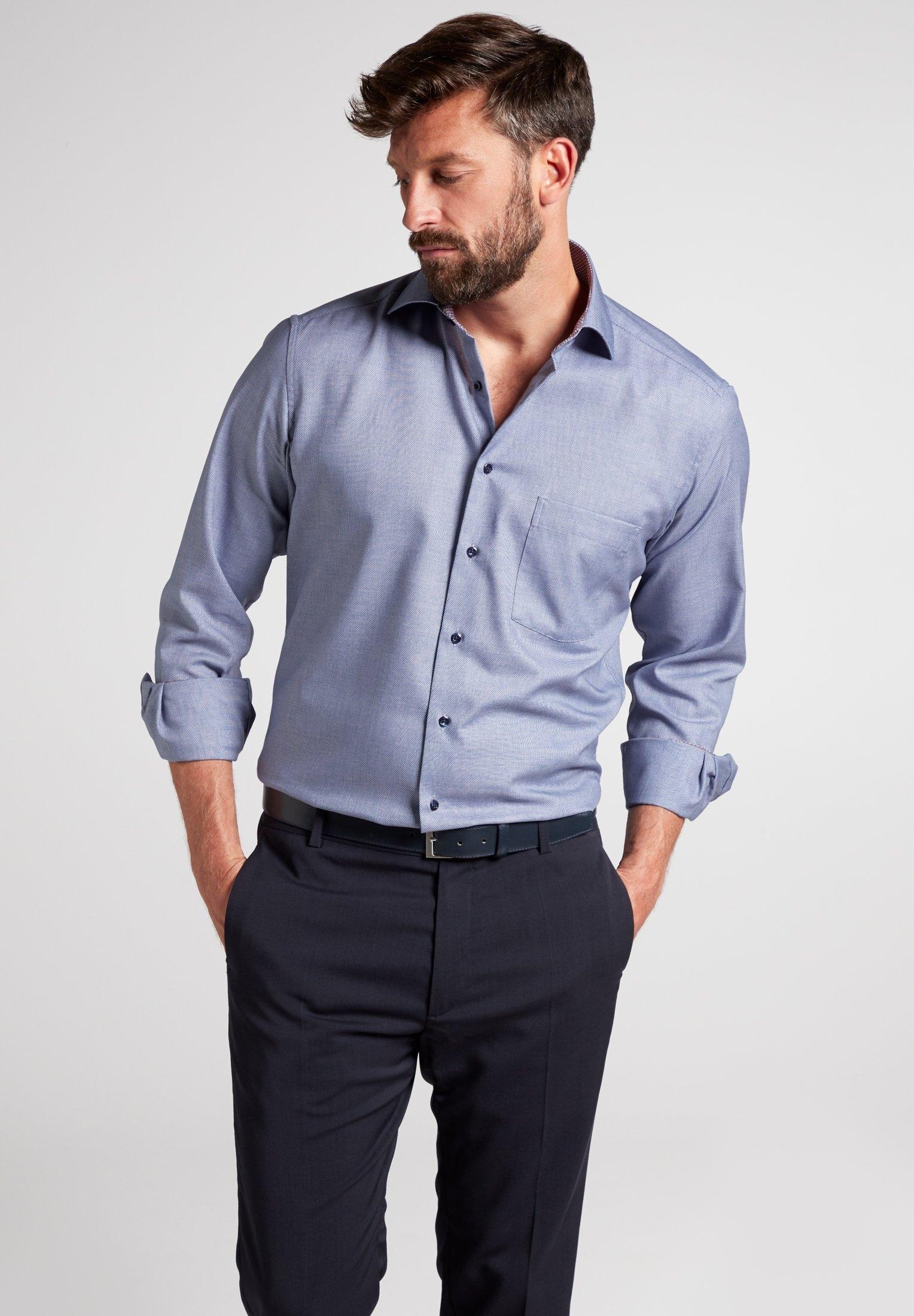 Eterna overhemd met lange mouwen »MODERN FIT« in de webshop van OTTO kopen